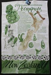 Pounamu/Greenstone Tea Towel
