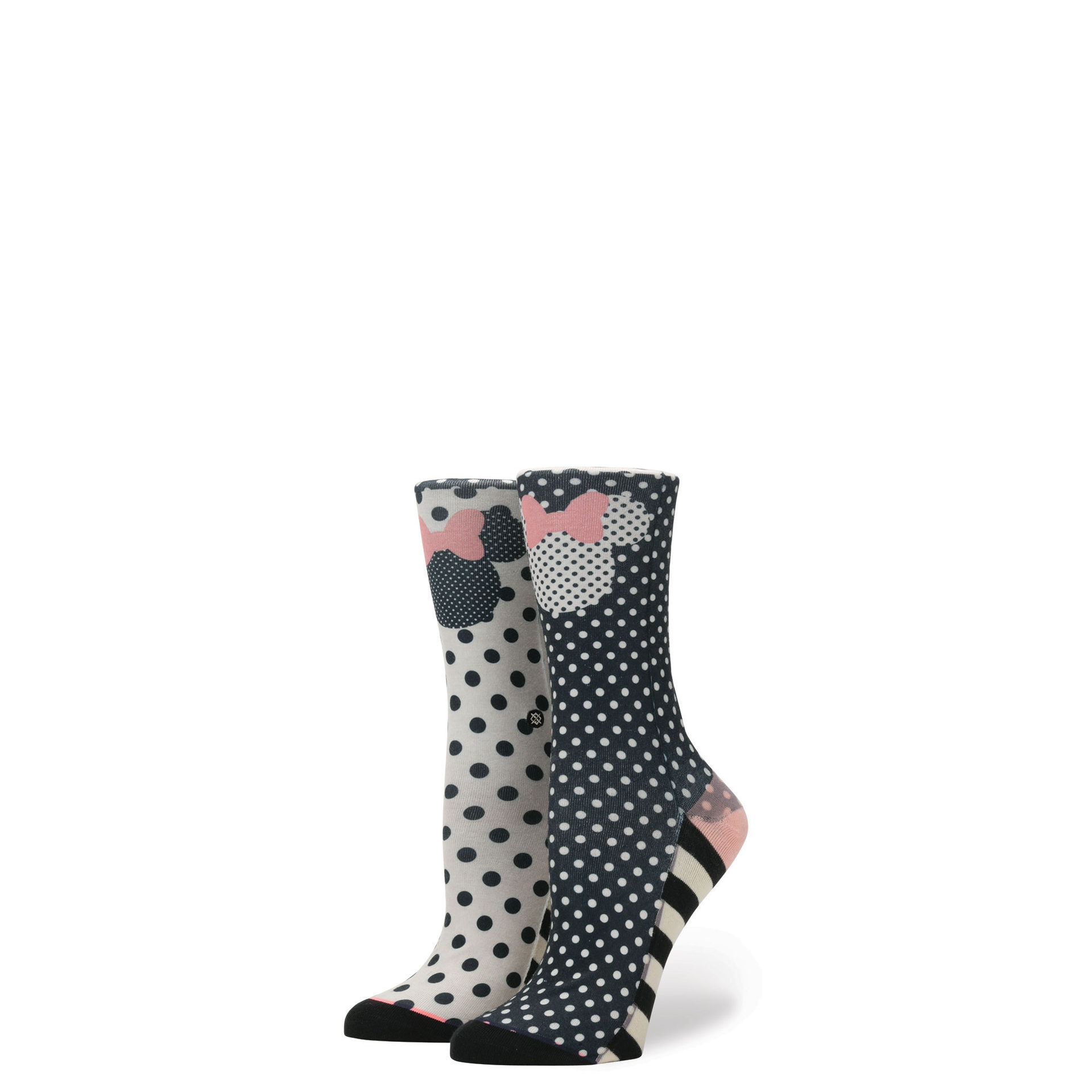 STANCE - GIRLS SPRINKLED MINNIE IN BLACK