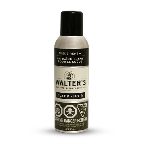 WALTER'S SHOE CARE - SUEDE RENEW IN BLACK