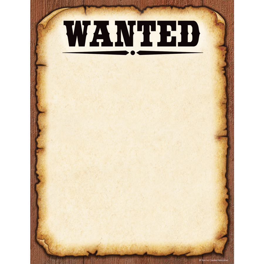 TCR 5242 WANTED 8.5X11 COMPUTER PAPER