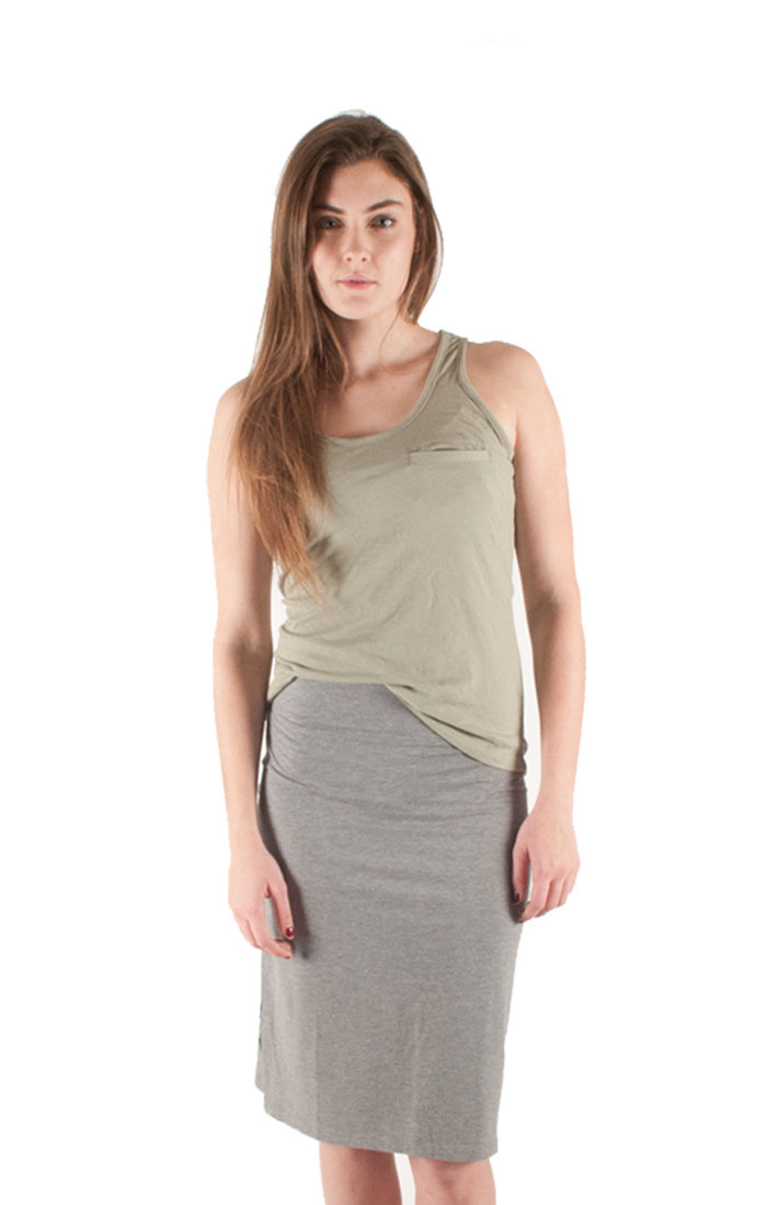 Womens Canal Jersey Skirt