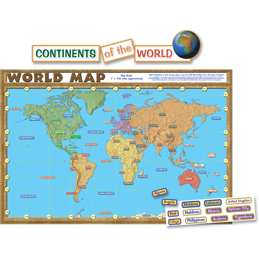TCR 4410 WORLD MAP BBS
