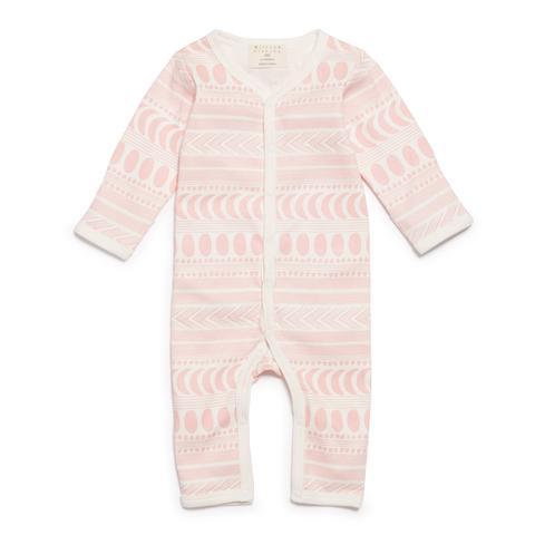WF Pink Moon Aztec LS Growsuit