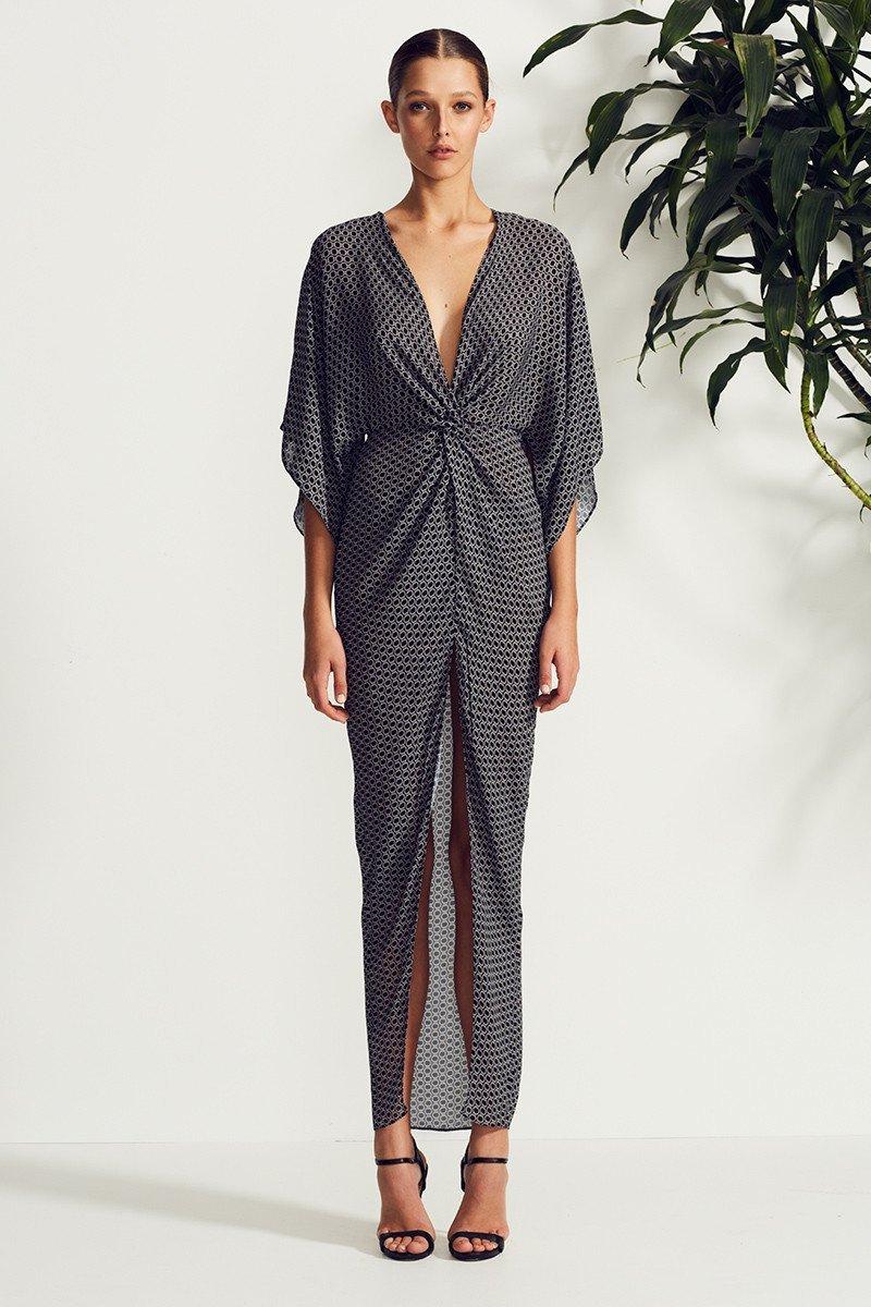 Shona Joy La Luna Twist Kimono Maxi Dress | Soul Sisters