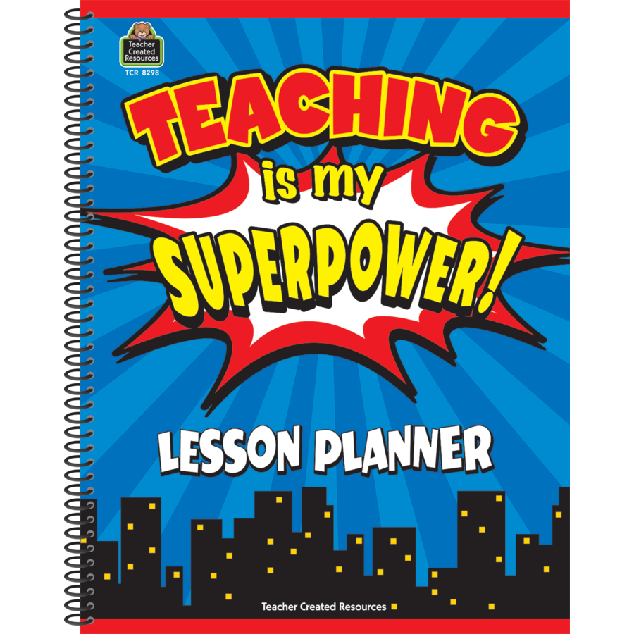 TCR 8298 TEACHING IS MY SUPER POWER PLANNER