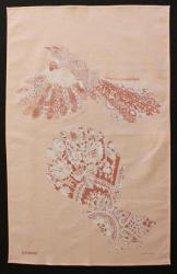 Crochet Fantail Teatowel