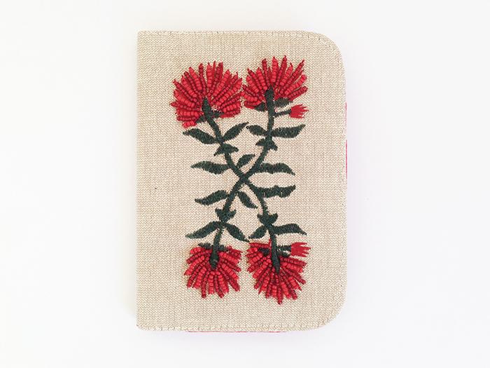 Pohutukawa Passport Cover