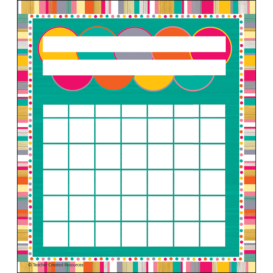 TCR 3482 TROPICAL PUNCH INCENTIVE CHARTS