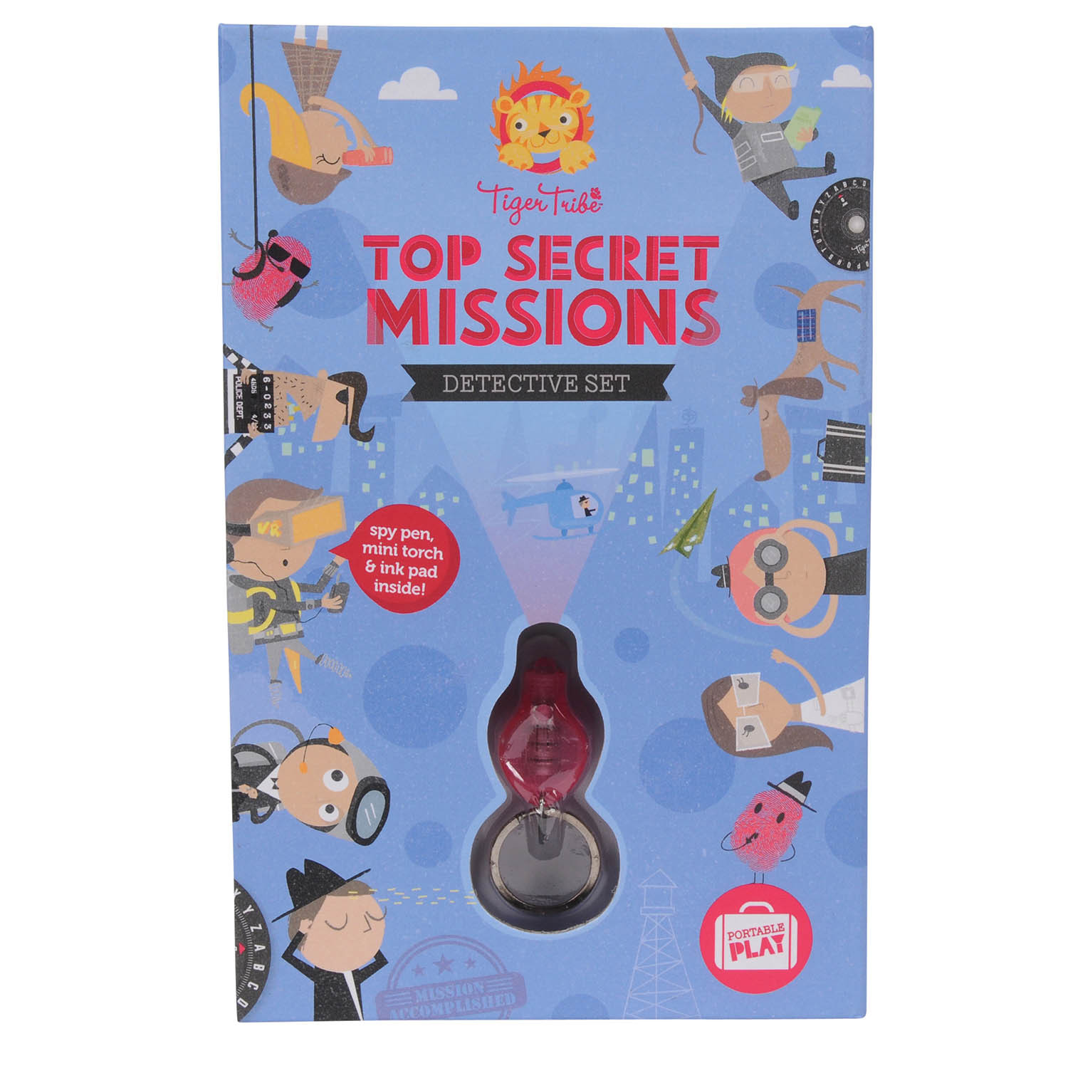 Top Secret Mission - Detective Set