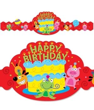 CTP 2558 HAPPY BIRTHDAY CROWNS