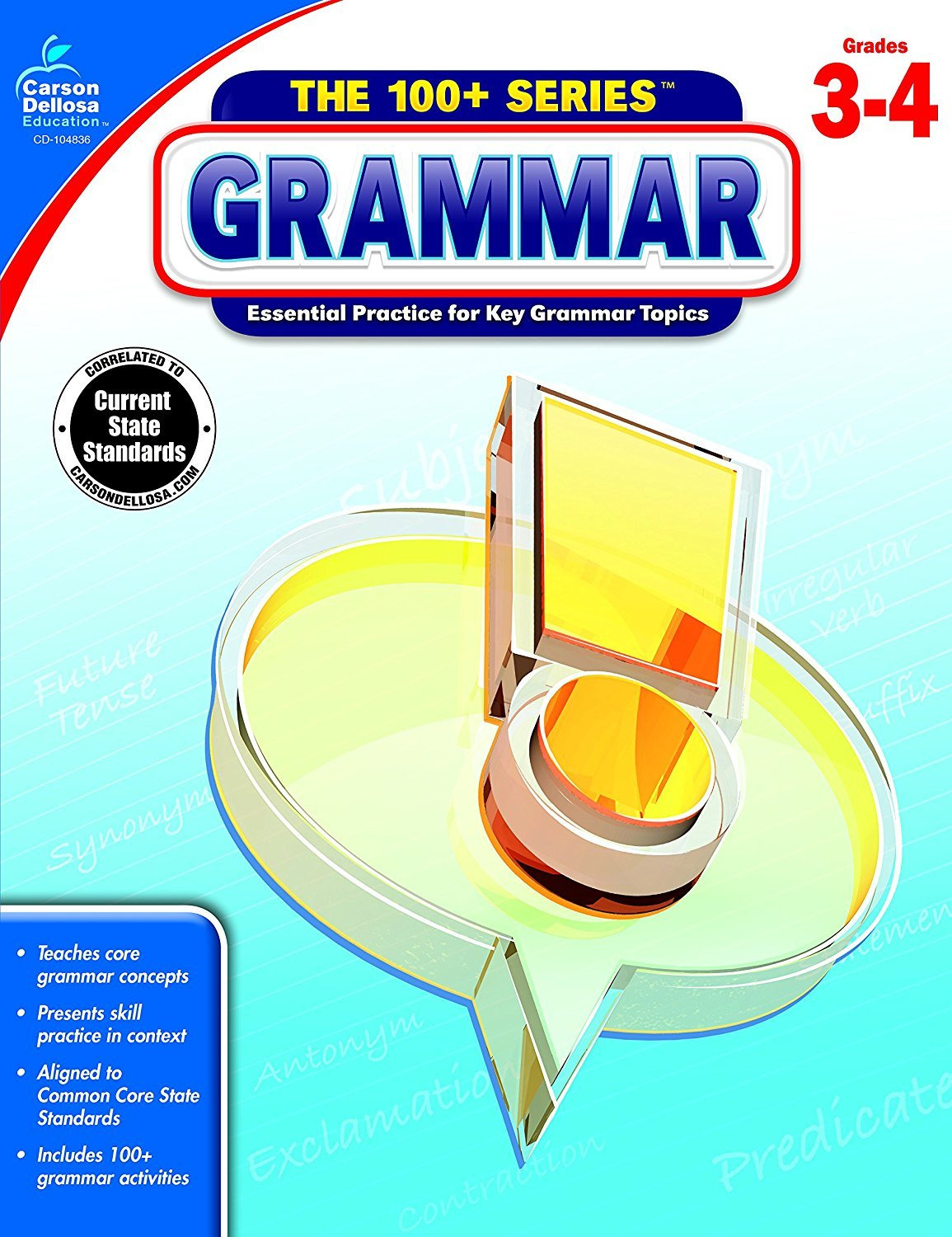 CD 104836 THE 100+ SERIES GRAMMAR G3-4