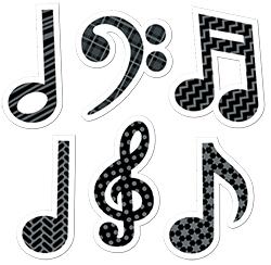 CTP 4384 MUSIC SYMBOLS STICKERS
