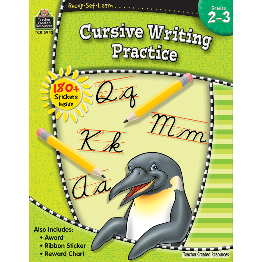 TCR 5942 READY-SET-LEARN CURSIVE WRITING PRACTICE G2-3