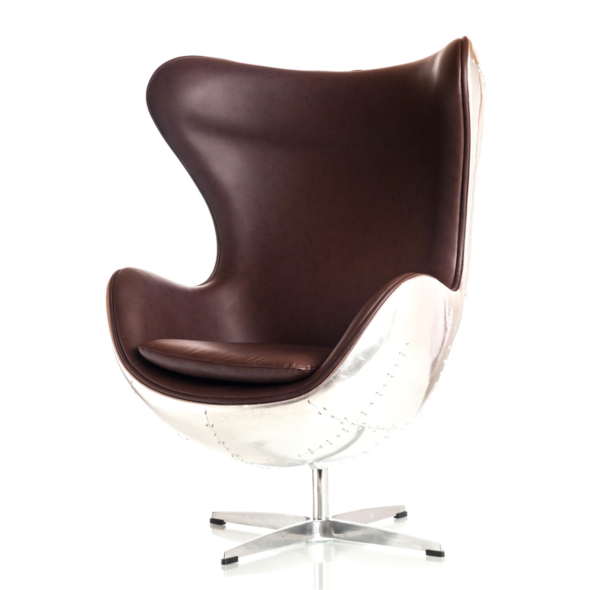 Chair Aluminium Egg Style
