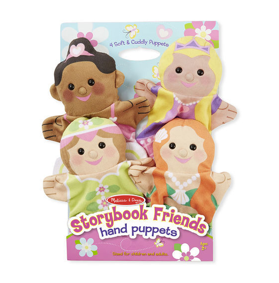 MD 9083 STORYBOOK FRIENDS HAND PUPPETS