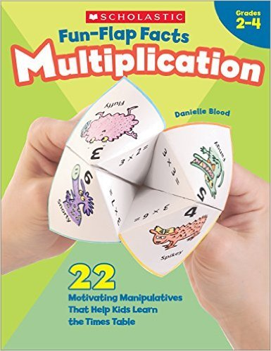SC 0439365449 FUN FLAP FACTS MULTIPLICATION