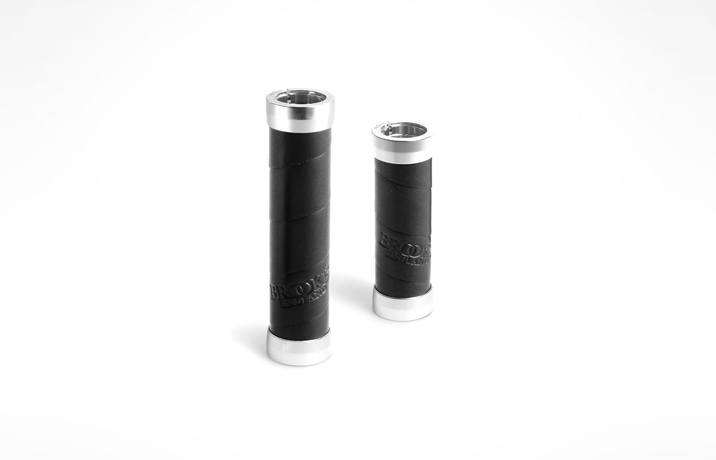 Brooks Slender Leather Grips 100/130mm