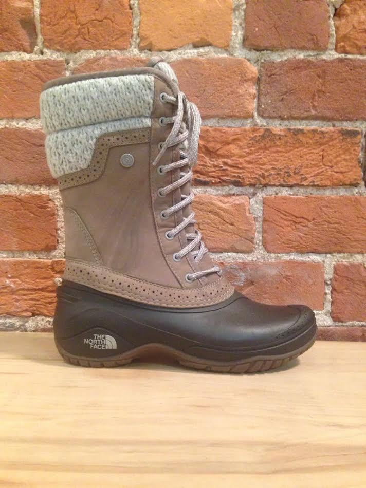 NORTH FACE - SHELLISTA II MID SPLIT ROCK BROWN/DOVE GREY