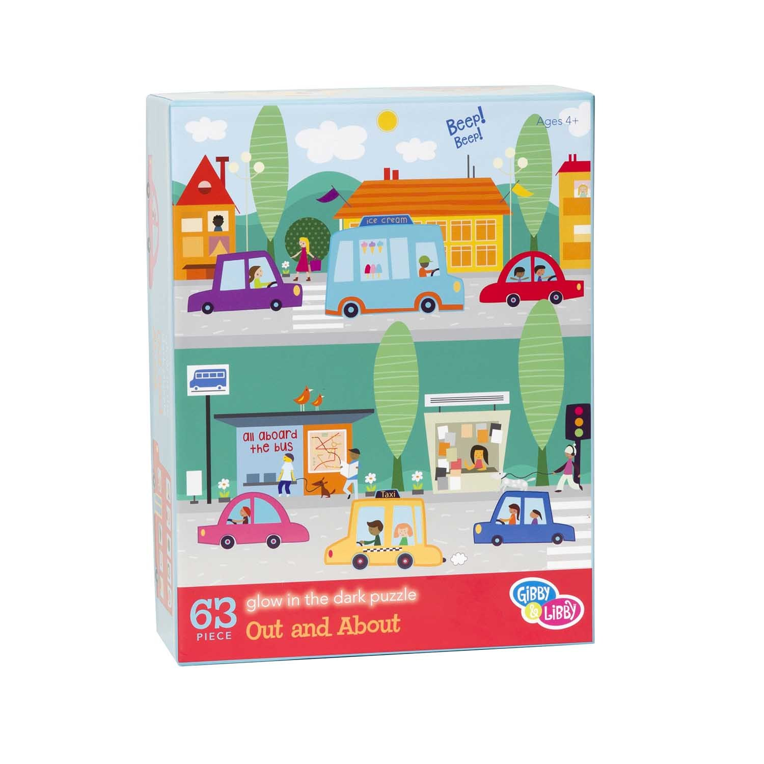 EU BKP3 16732 OUT AND ABOUT PUZZLE 63 PC