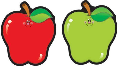 CD 5555 ASSORTED APPLES CUTOUTS