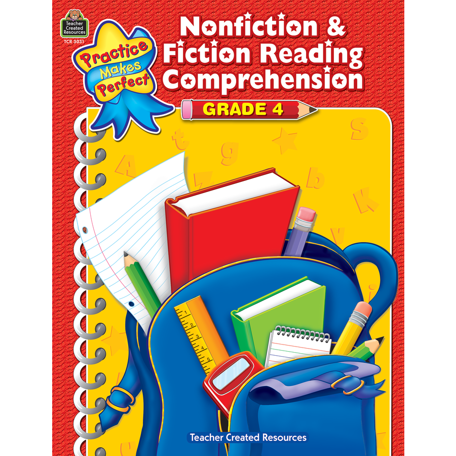TCR 3031 NF AND F READING COMPREHENSION GRADE 4