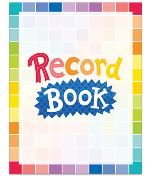 CTP 1404 PAINTED PALETTE RECORD BOOK