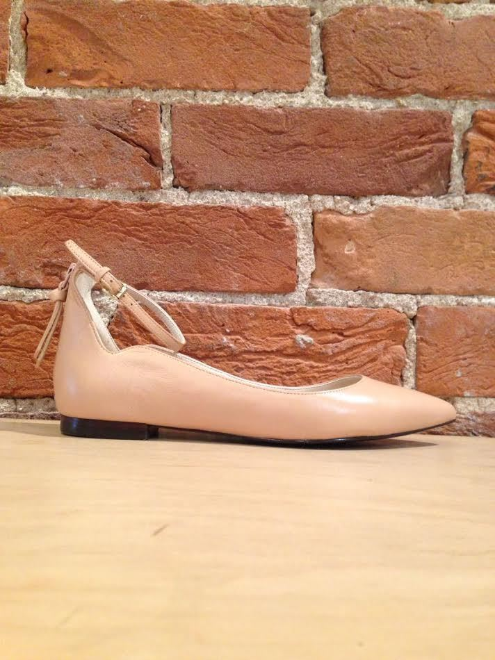 COLE HAAN - MILLICENT GRND SKMMR IN NUDE LEATHER