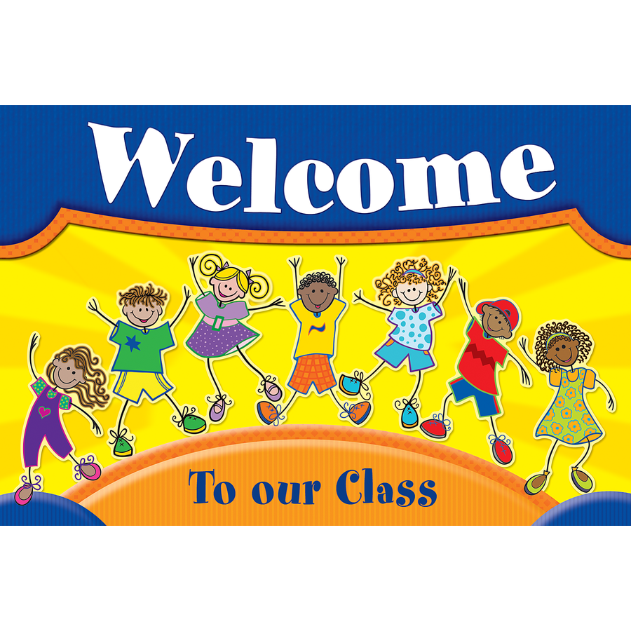 TCR 5231 KIDS WELCOME POSTCARDS