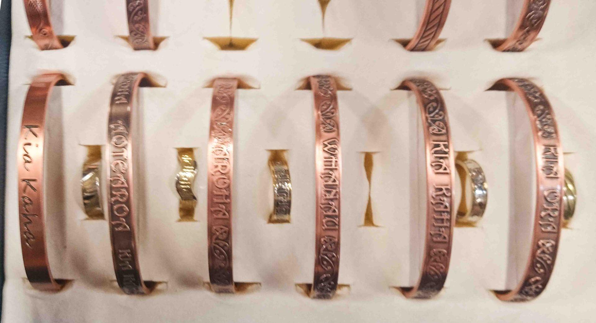 copper bangles Kia Ora