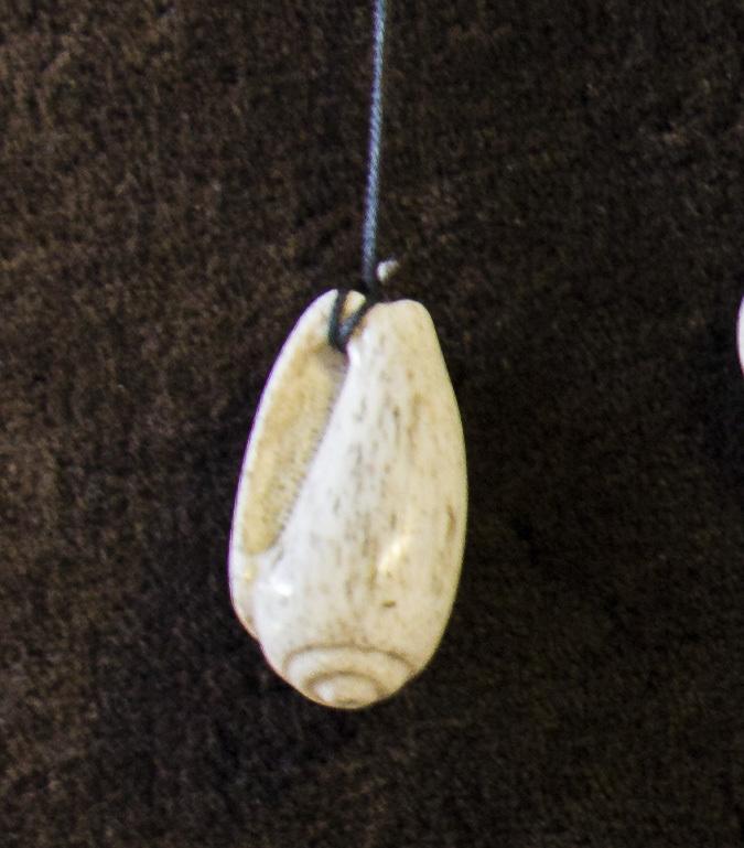 whalebone pendant