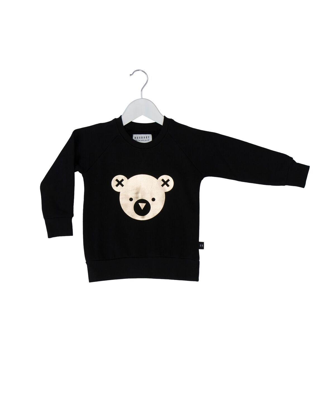 Huxbaby Bear Fleece Sweat Top