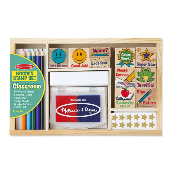 MD 2400 CLASSROOM STAMP SET