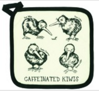 Caffeinated Kiwi Pot Holder