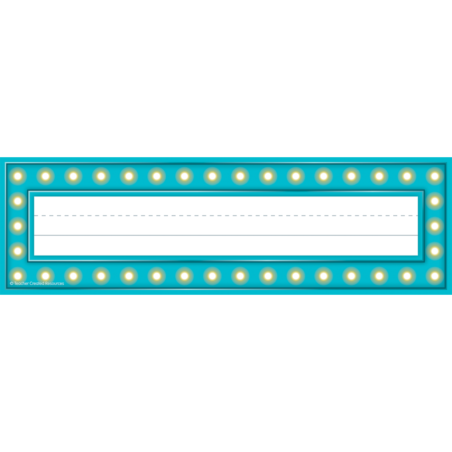 TCR 5434 MARQUEE NAMEPLATES