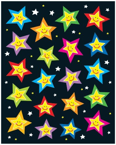 X CD 168029 STARS SHAPE STICKERS