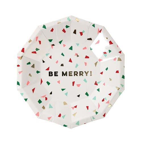Be Merry Plates Small