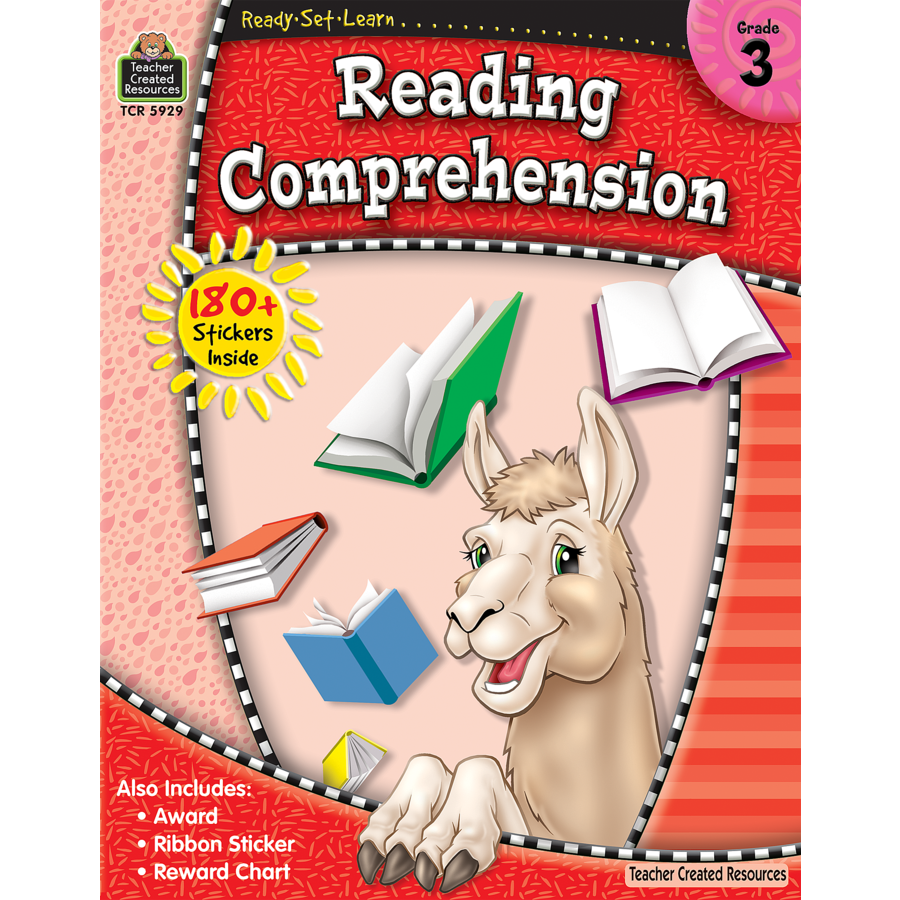 TCR 5929 READY-SET-LEARN READING COMPREHENSION G3