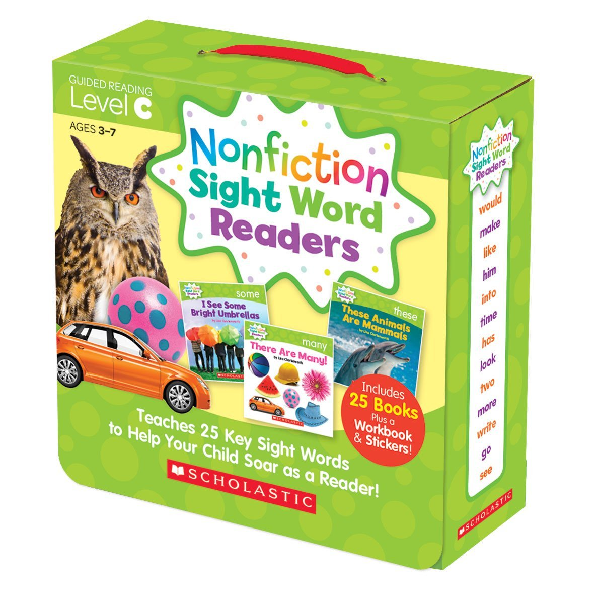 SC 584283 SIGHT WORD READERS LEVEL C