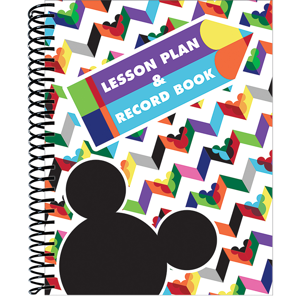 EU 866269 GEO MICKEY LESSON PLAN BOOK