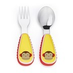 Skip Hop Zoo Utensil Set, Monkey, One Size