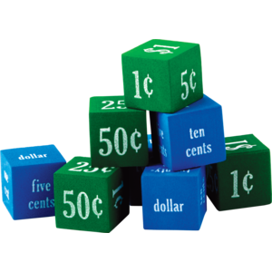 TCR 20691 FOAM MONEY DICE