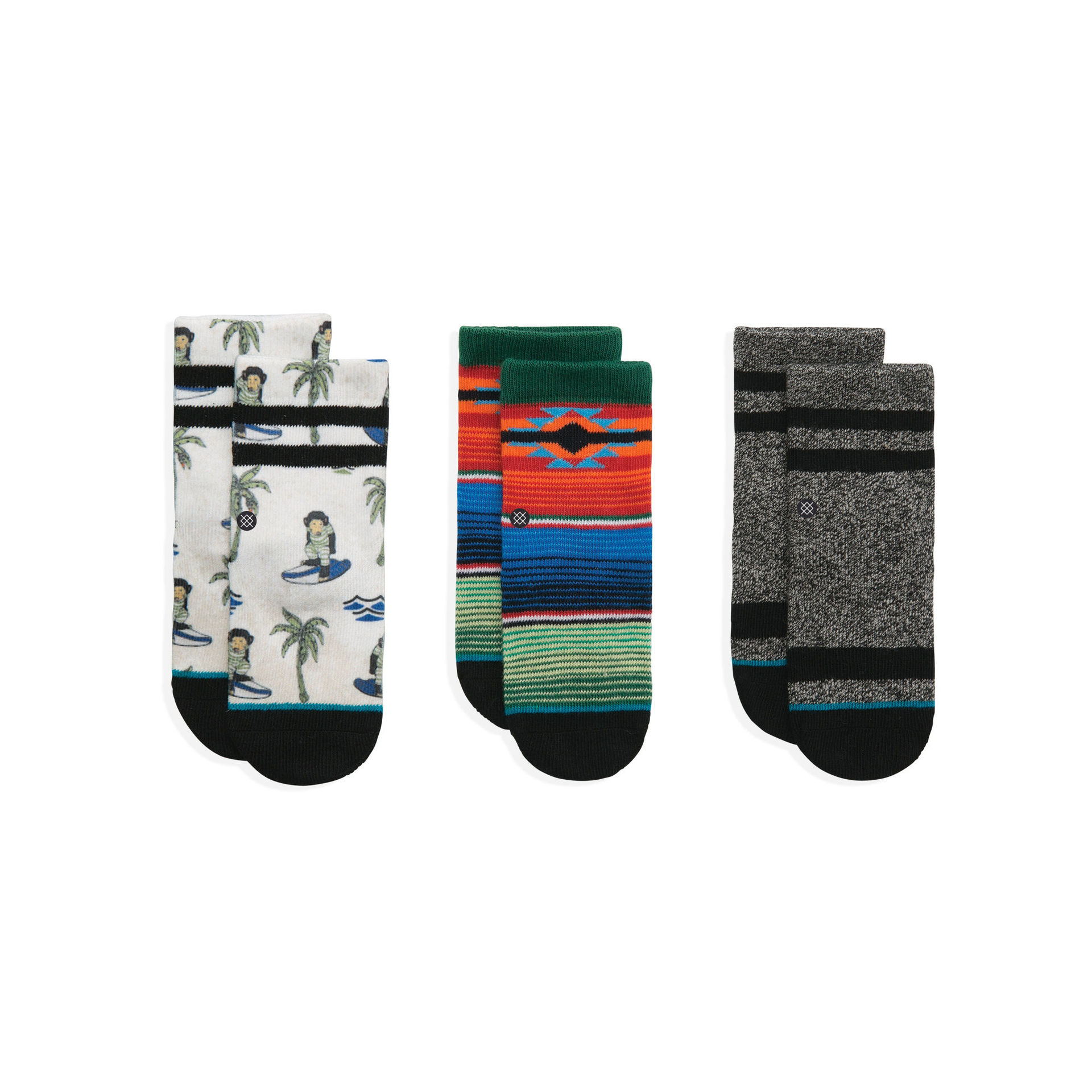 STANCE - TODDLER BOYS MONKEY BOX MULTI