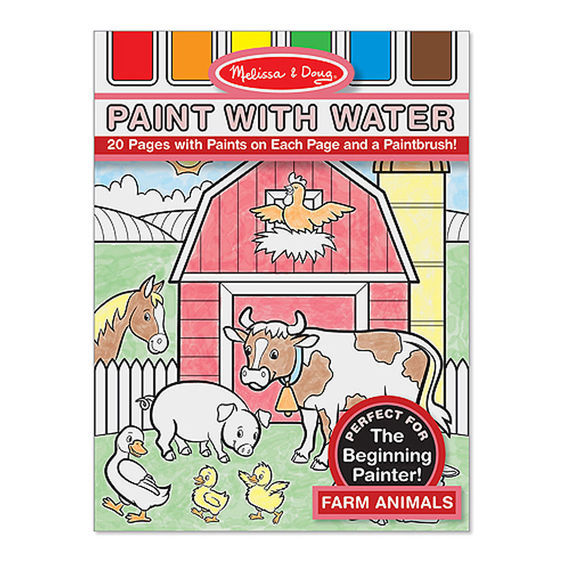 MD 4165 PAINT WITH WATER FARM ANIMALS