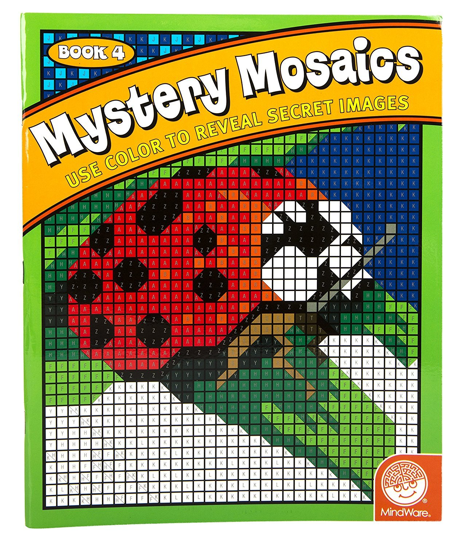 MW 62007 MYSTERY MOSAICS BOOK 4