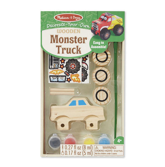 MD 9524 DECORATE YOUR OWN MONSTER TRUCK