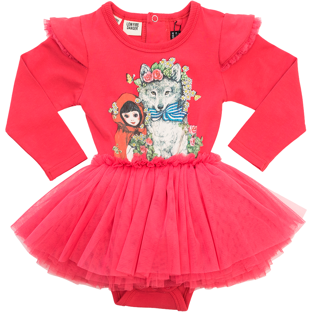 Little Red Baby Circus Dress