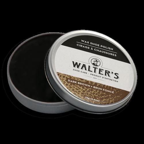 WALTER'S SHOE CARE - BROWN WAX POLISH