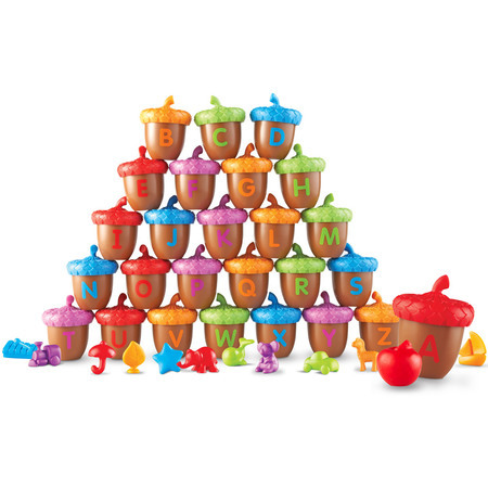 LER 6802 ALPHABET ACORNS