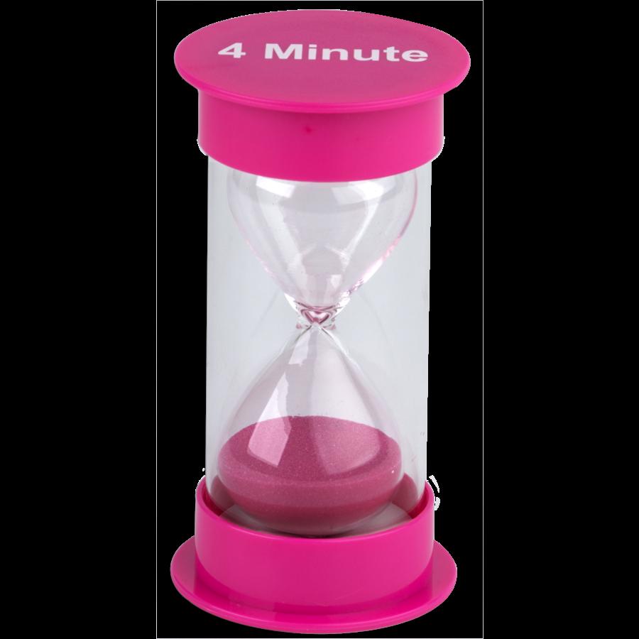 TCR 20760 4 MINUTE SAND TIMER- MED