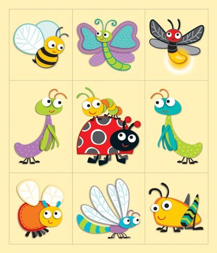 CD 168173 PRIZE PACK STICKERS BUGGY FOR BUGS